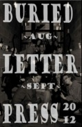 Buried Letter Press August September 2012