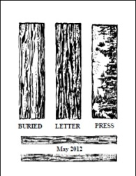 Buried Letter Press May 2012