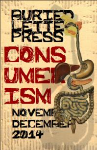 Buried Letter Press Consumerism Nov Dec 2014