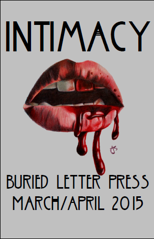 Buried Letter Press March April 2015 INTIMACY