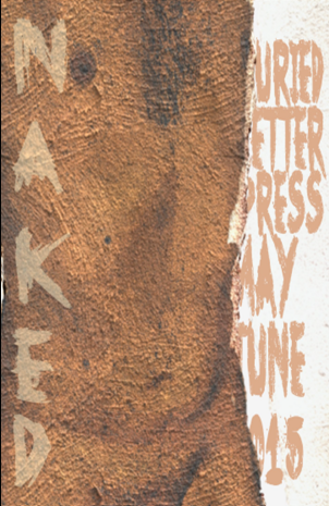 Buried Letter Press Naked May June 2015