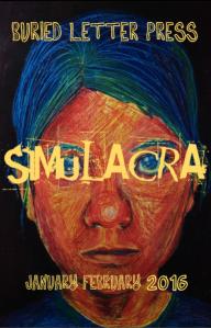 Buried Letter Press Simulacra Jan Feb 2016 cover