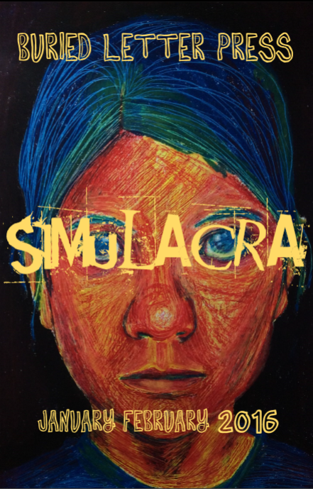 Buried Letter Press Simulacra Jan Feb 2016 cover